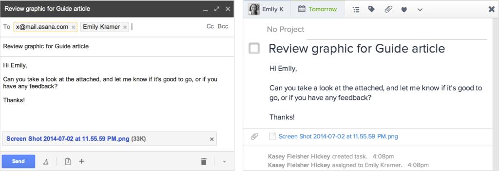 email vs asana