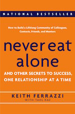 Never eat alone by Keith Ferrazzi book summary and pdf