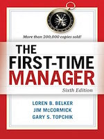 The first time manager book summary and pdf cover