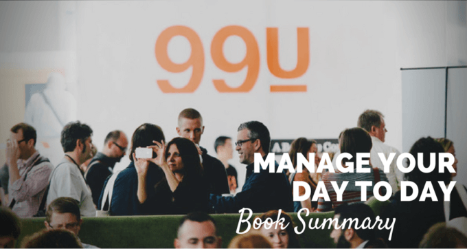 Manage your day to day book summary and pdf