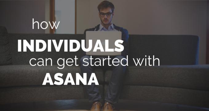 asana for individuals