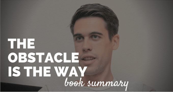 The Obstacle is the Way book Summary and PDF