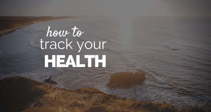 how to track your health