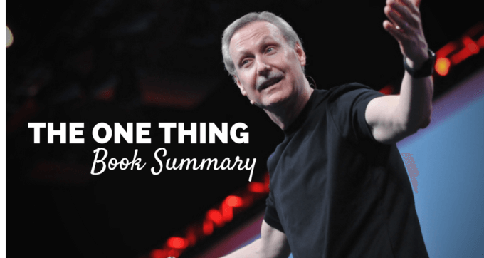 The One thing by Gary Keller book summary and PDF