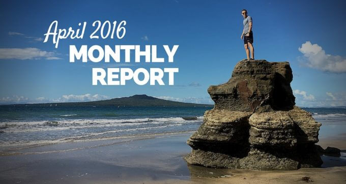 april 2016 monthly report new