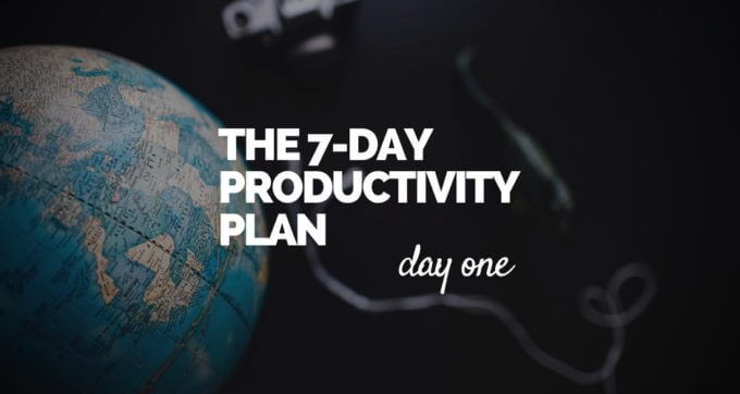 7-Day Productivity Plan - 1