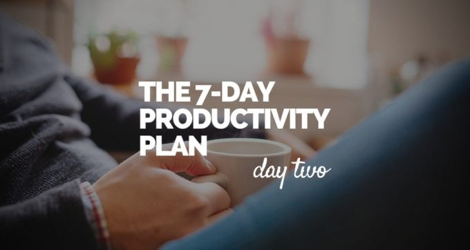 7-Day Productivity Plan - 2