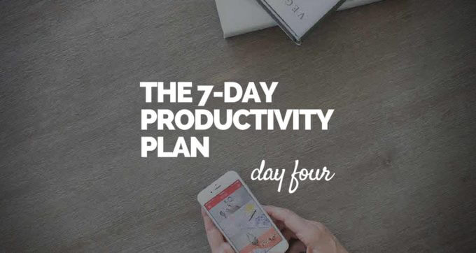 7-Day Productivity Plan - 4