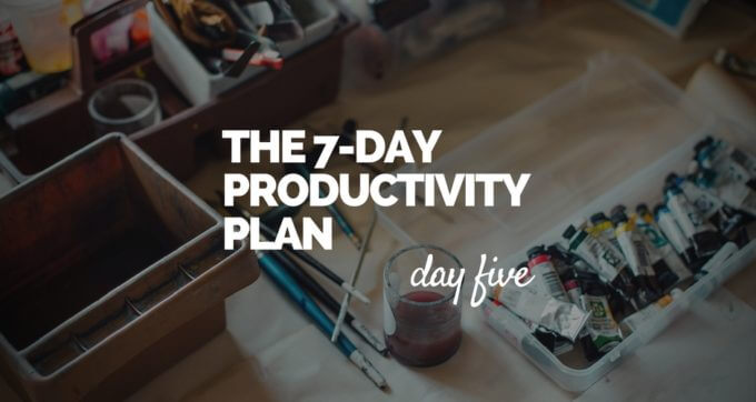 7-Day Productivity Plan - 5