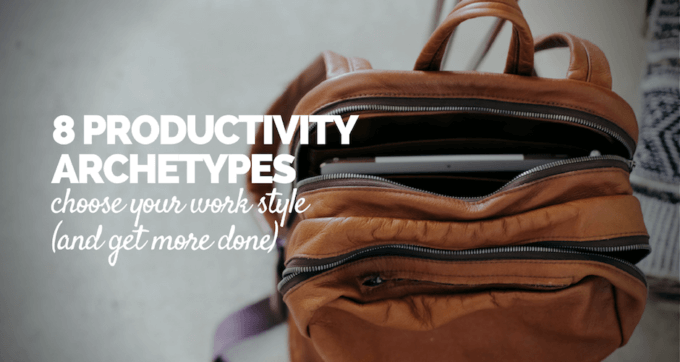 8 Productivity Archetypes 2