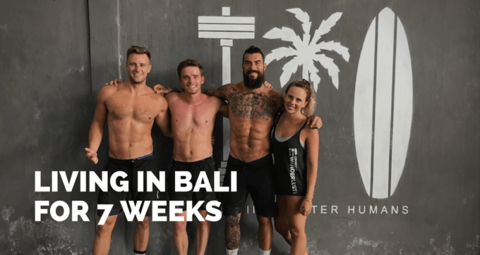 living in bali for 7 weeks