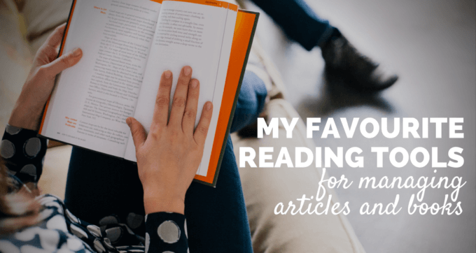 my favourite reading tools