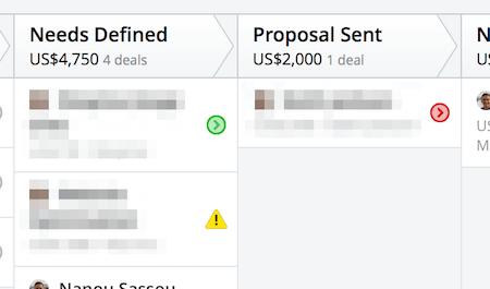 pipedrive deals