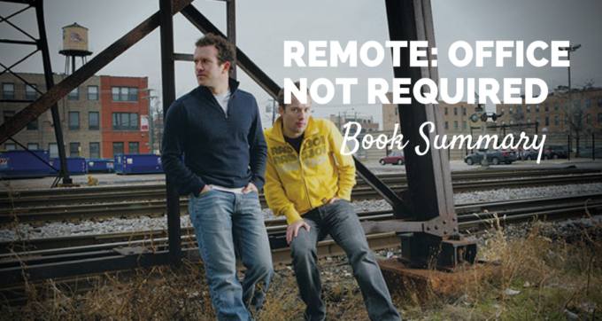 Remote Office Not Required Book Summary and PDF
