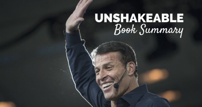 Unshakeable by tony robbins book summary and pdf