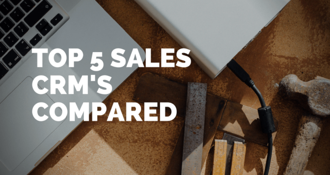 top sales crm compared