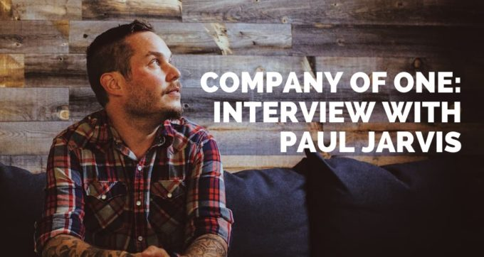 company of one interview with paul jarvis