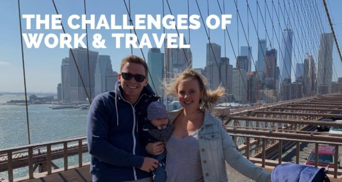 the challenges of work and travel