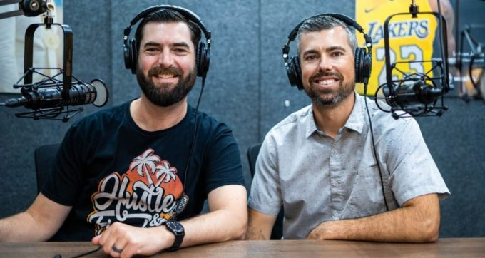 Business, podcasts and shiny object syndrome with Matt and Joe from Evergreen Profits