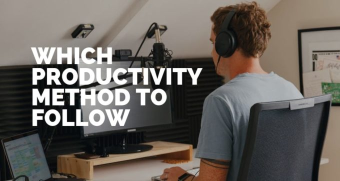 which productivity method to follow