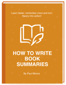 How to write book summaries ebook