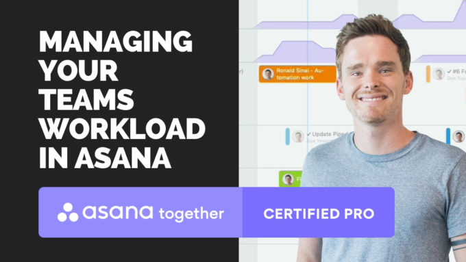 Managing your teams workload in Asana