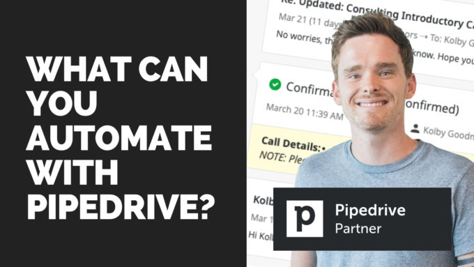 What can you automate with Pipedrive
