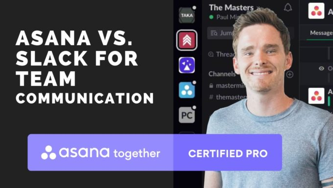 When to use Slack or Asana for team communication