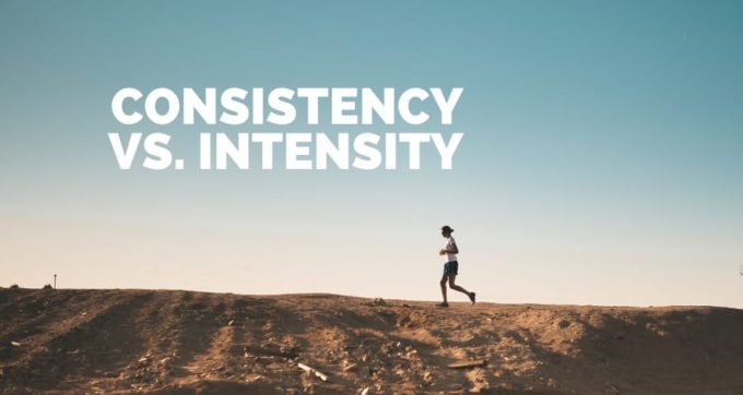 consistency vs intensity