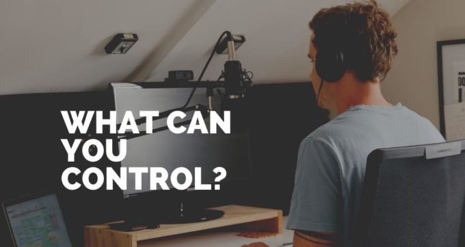 what can you control
