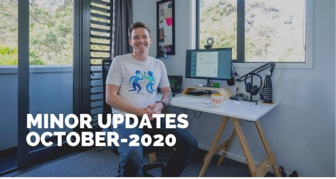 minor updates october 2020