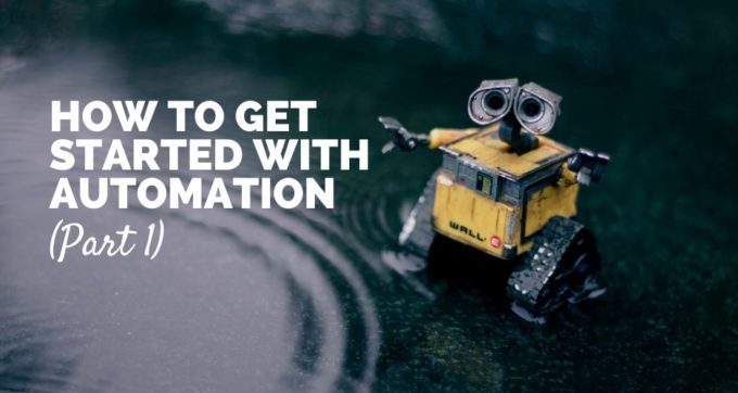 how to get started with automation